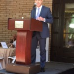 David Cooper - Command Master Chief - US Navy Seals (ret) Speaking at a luncheon during the #rd Annual GM Exchange.